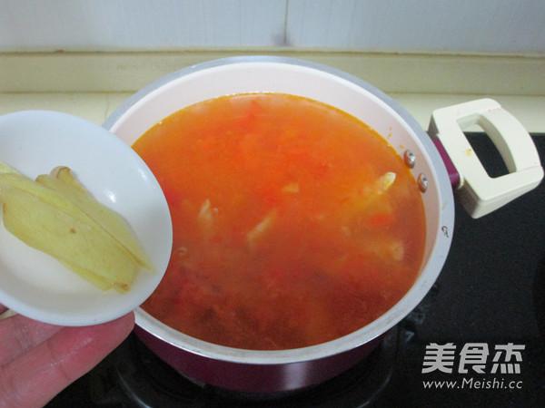 番茄牛肉浓汤火锅怎么炖