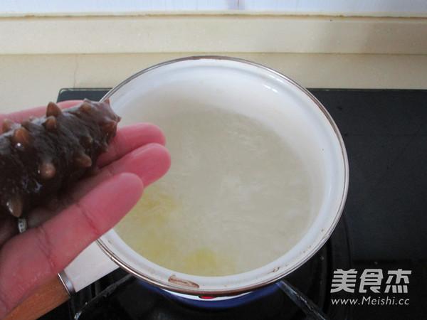 海参小米粥怎么吃