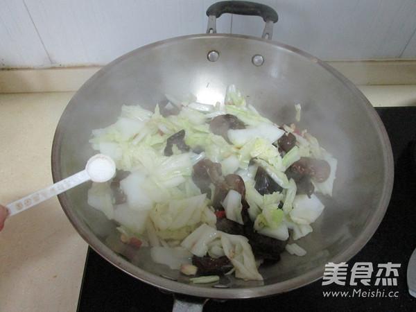 酸辣黑木耳白菜怎么炒