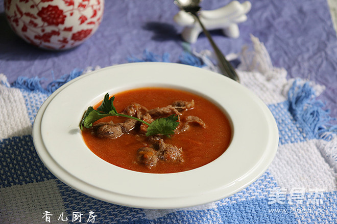 番茄牛肉浓汤怎么煸