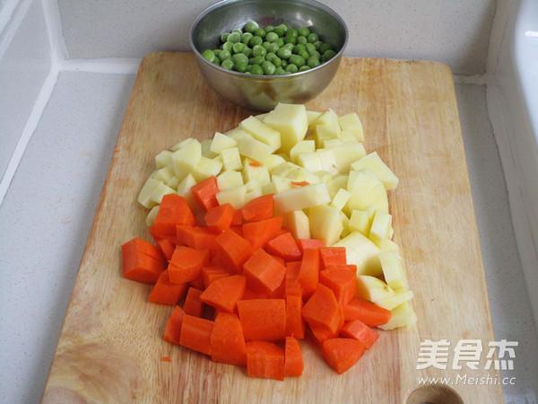杂蔬排骨焖饭的做法大全