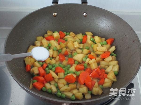 杂蔬排骨焖饭怎么吃