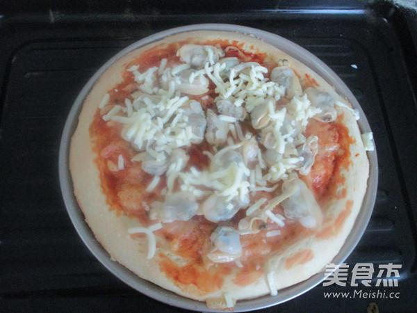 蛤蜊披萨怎样煮