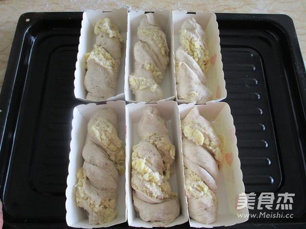 奶香椰蓉花式面包怎样煸
