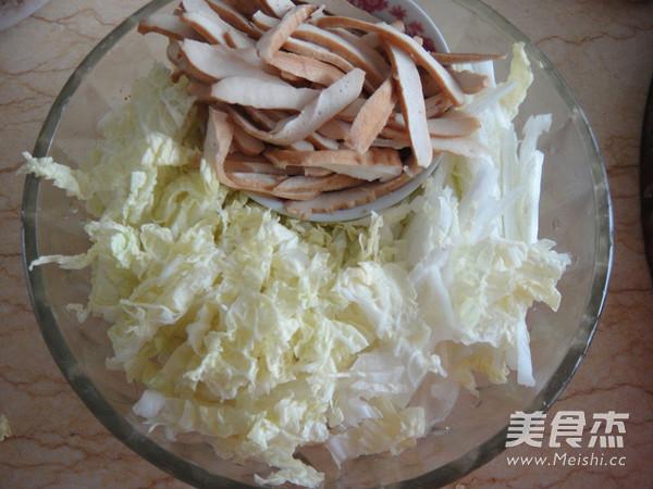 豆豉白菜肉丝的家常做法