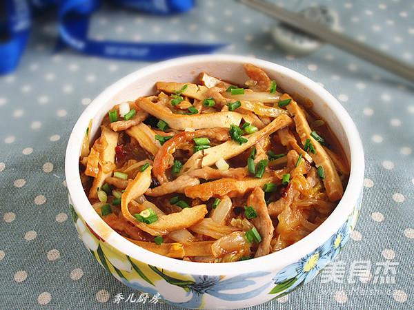 豆豉白菜肉丝怎样炒