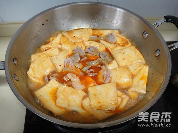 千页豆腐麻辣香锅怎么煸