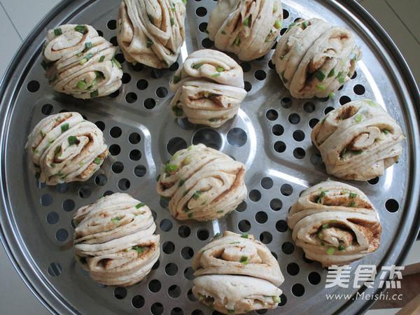 小茴香籽葱油花卷怎样做