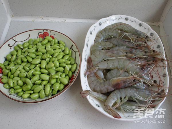 毛豆凤尾虾的做法大全