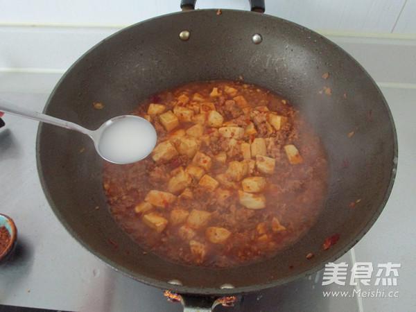 家庭版麻辣豆腐怎样炒