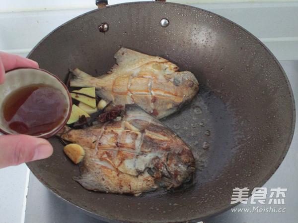 红烧鲳鱼怎么炒