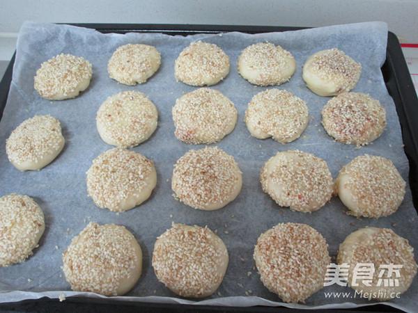 萝卜丝芝麻酥饼的制作