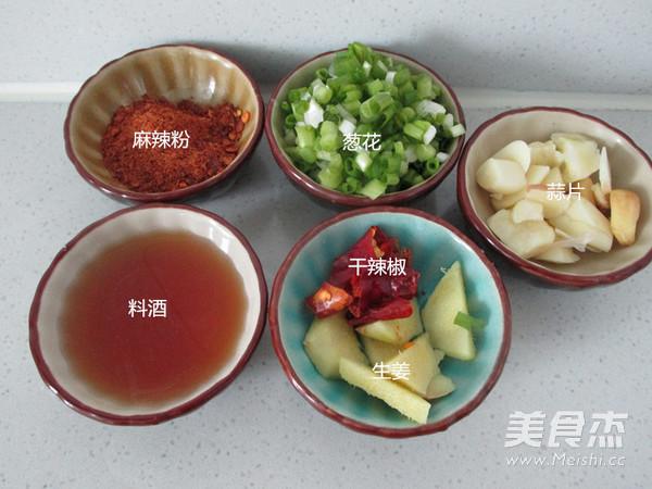 咸肉花菜干锅的简单做法