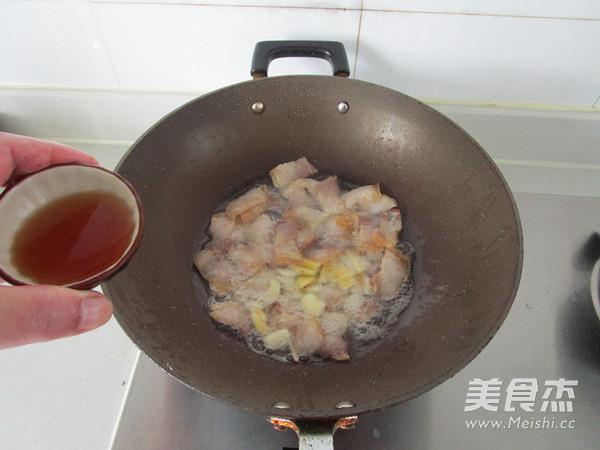 咸肉花菜干锅怎么炒