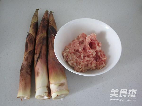 竹笋酿肉的做法大全