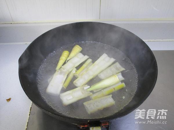 竹笋酿肉的家常做法