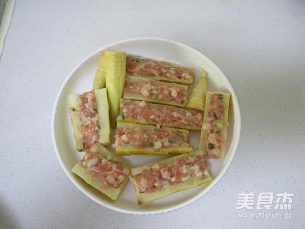 竹笋酿肉怎么做