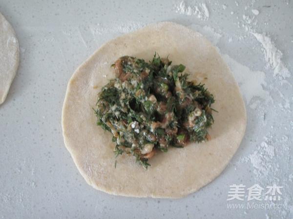 杂粮茴香鲜肉饼怎么炒