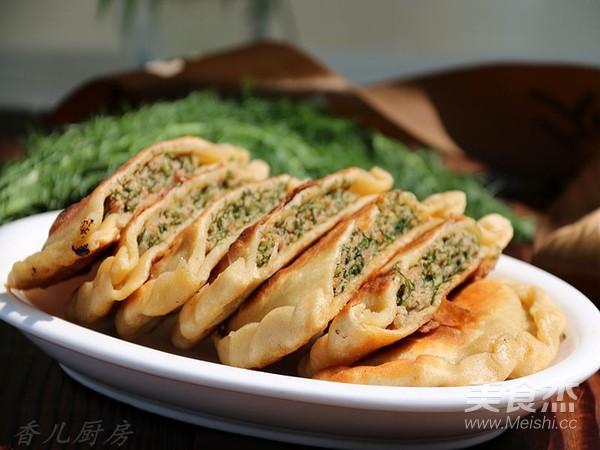 杂粮茴香鲜肉饼怎样炒