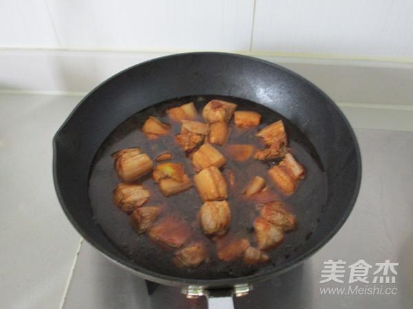 百叶结红烧肉怎么炖