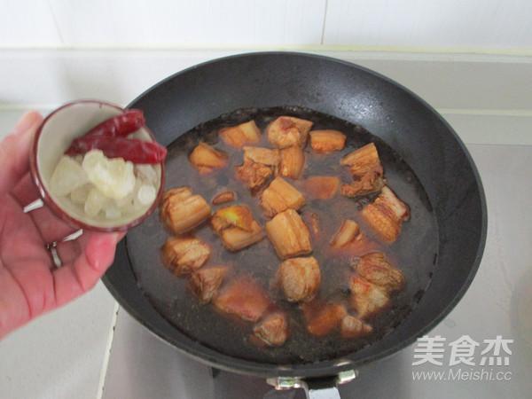 百叶结红烧肉怎么煸