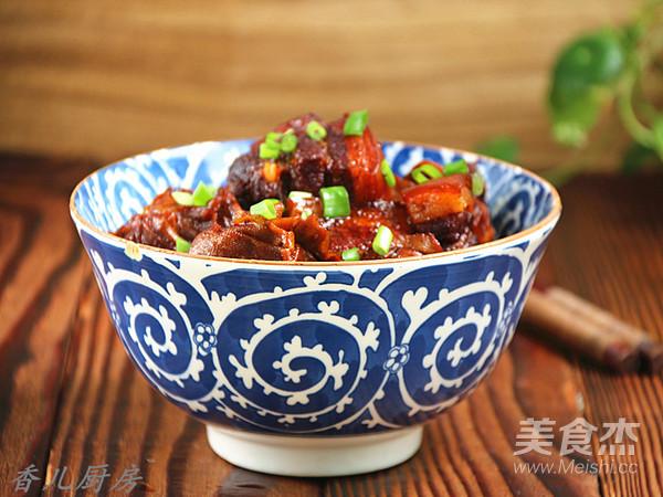 百叶结红烧肉怎样煮