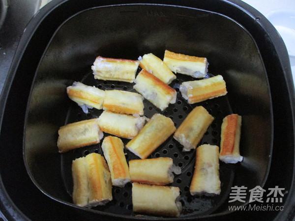 菠萝油条虾怎么煸