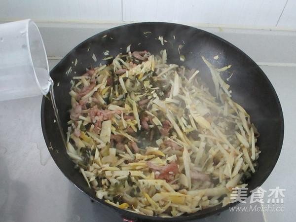 春笋咸菜炒肉丝怎么炖