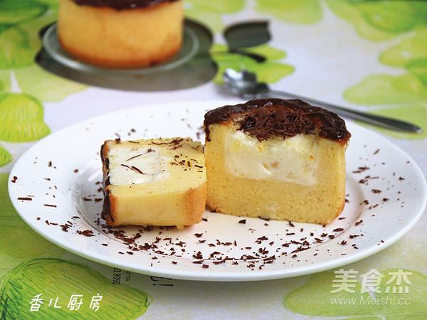 双色慕斯蛋糕的制作方法