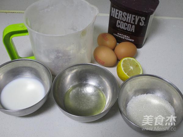 巧克力小蛋糕的简单做法