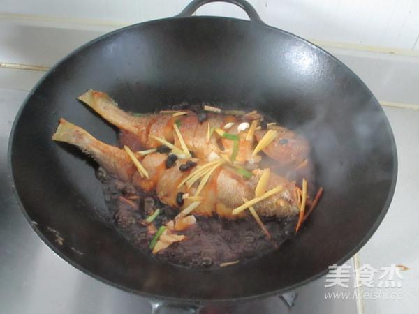 豆豉烧黄鱼怎么做
