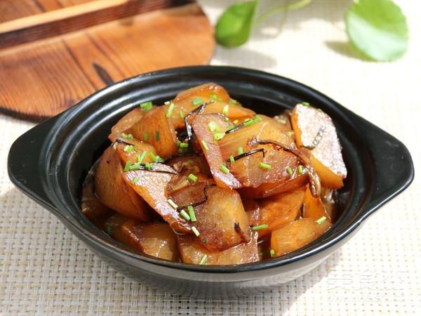 葱油烧白萝卜怎样做