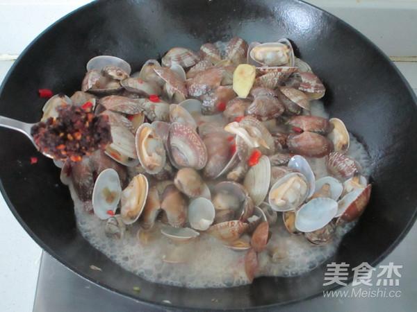 香辣花蛤怎么炒