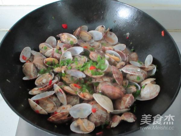 香辣花蛤怎么煮