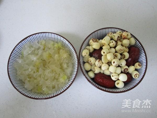 莲子银耳红枣汤的做法大全