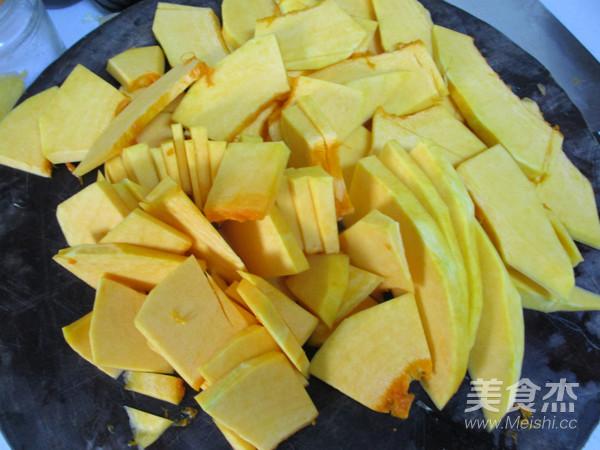 南瓜豆沙饼的做法图解