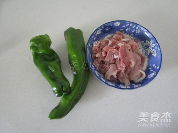 青椒小炒肉的做法大全
