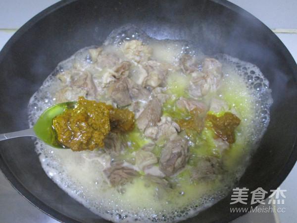 咖喱牛肉土豆汤怎么做