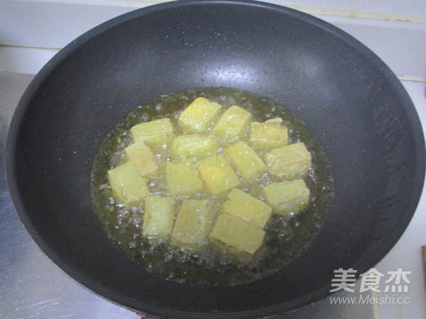 油炸臭豆腐的步骤