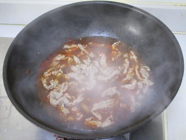 红油金针菇肥牛片怎么做