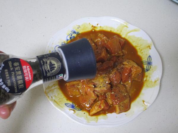 黑椒杏鲍菇牛肉粒的简单做法