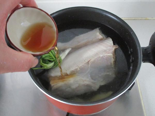 干切咸肉的简单做法