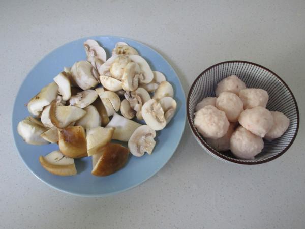 虾丸烩菌菇的做法大全