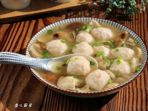 虾丸烩菌菇怎么煮