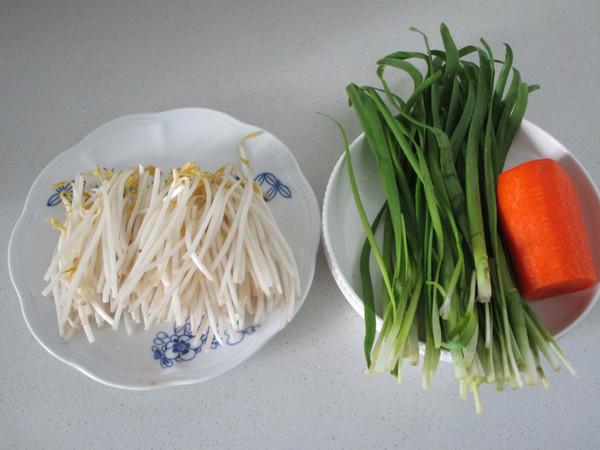 绿豆芽炒三丝的做法大全