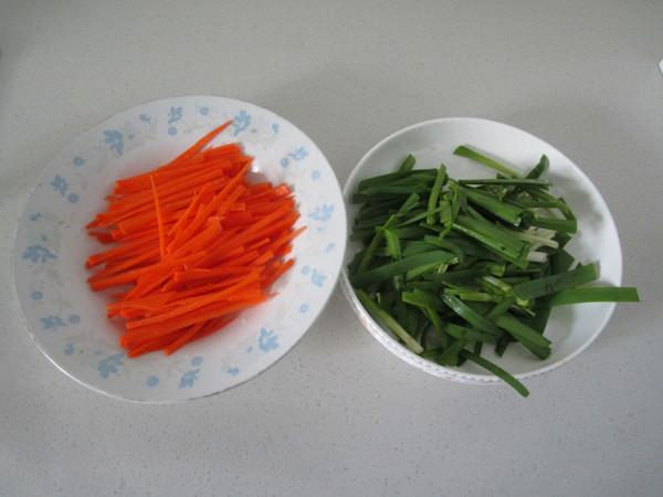 绿豆芽炒三丝的做法图解
