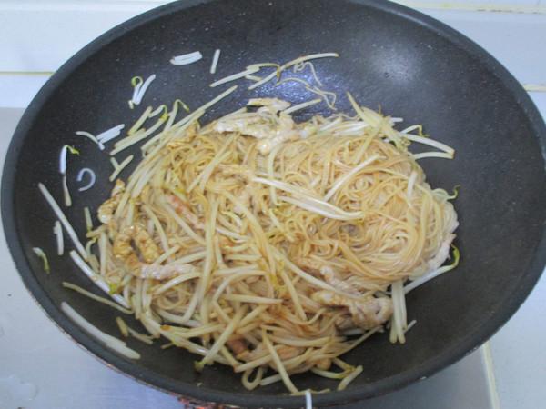 韭菜肉丝米粉怎么炒