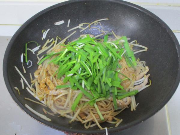 韭菜肉丝米粉怎么煮