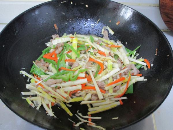 竹笋三丝怎么煮