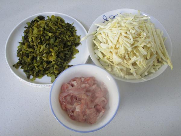 酸菜猪肉笋丝的做法图解